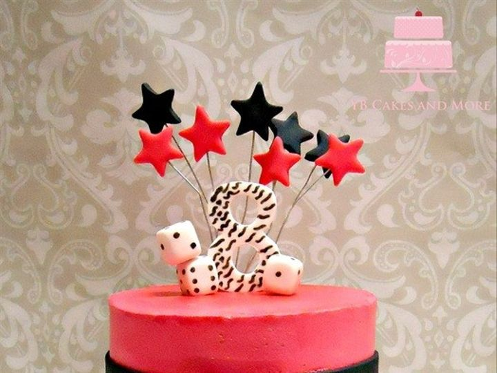 Tmx 1467614823797 Bunco Birthday Cake Fort Worth wedding cake