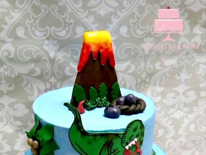 Tmx 1467614843722 Dinosaur Cake Fort Worth wedding cake