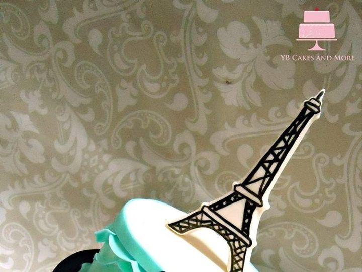 Tmx 1467614889196 Eiffel Tower Cake Fort Worth wedding cake