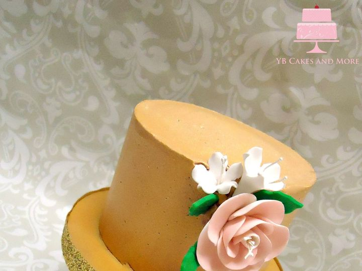 Tmx 1467614896205 Gold Cake 1 Fort Worth wedding cake