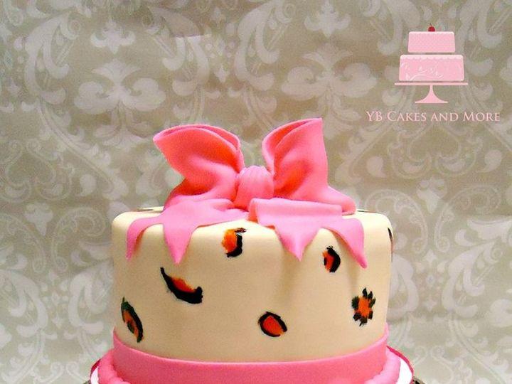 Tmx 1467614910625 Leopard Print Cake 2 Fort Worth wedding cake