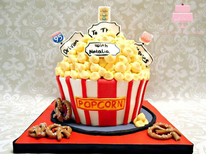 Tmx 1467614924221 Movie Theater Cake Fort Worth wedding cake