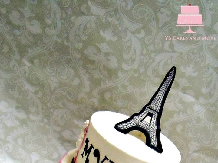 Tmx 1467614953386 Paris Cake Fort Worth wedding cake