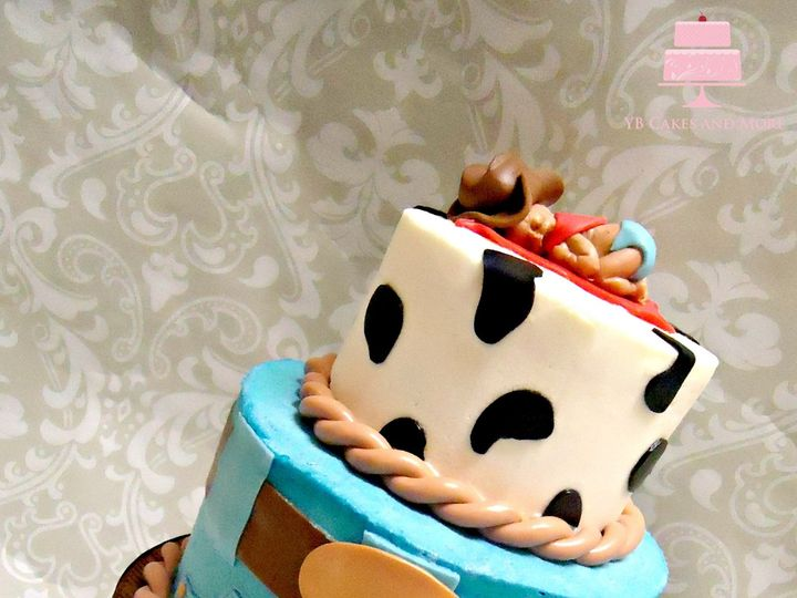 Tmx 1467614980970 Western Cake Fort Worth wedding cake