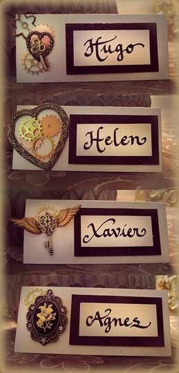 Handemade Place Cards