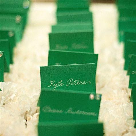 green escort card