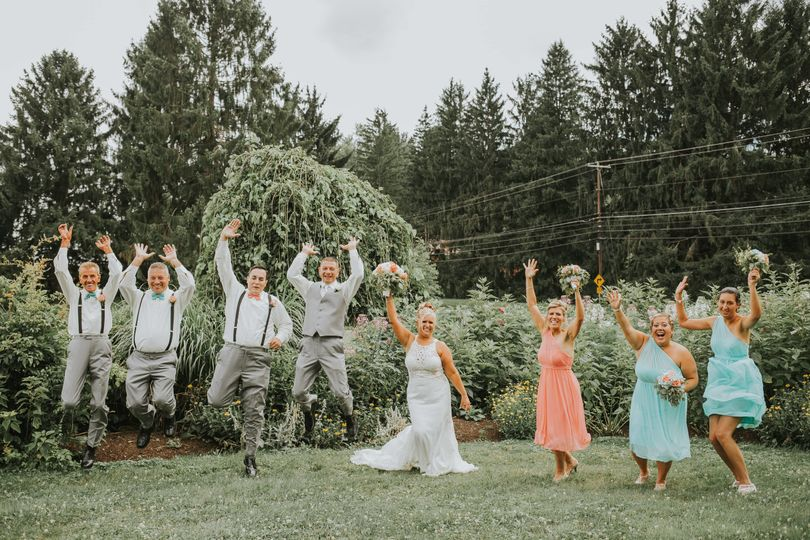 Wedding portraits don't have to be generic.  Use them to show your personality.    Photo by Lyn...