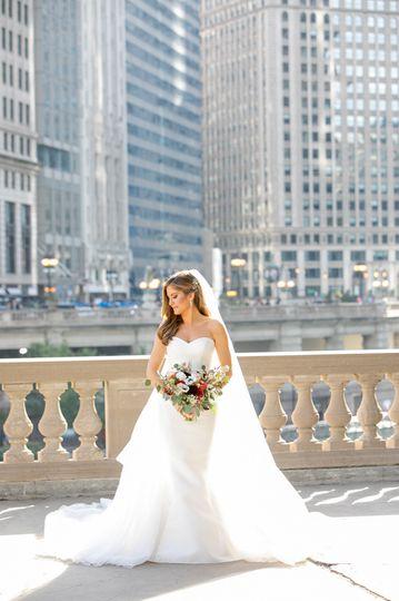Wrigley Building Bride