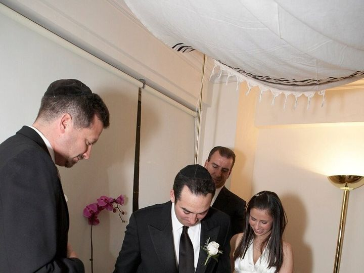 Tmx 1385557541115 Ali And Jay Bross Wedding   Stepping On The Glas New York, NY wedding officiant