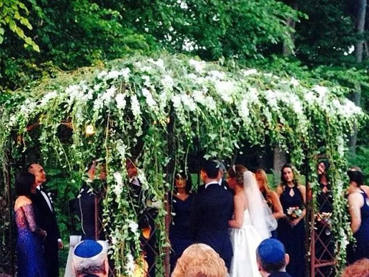 Tmx 1479234265545 Picture Of Chuppah Of Josh And Sari New York, NY wedding officiant