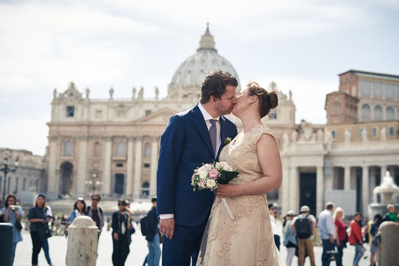 Wedding in Rome, Vatican