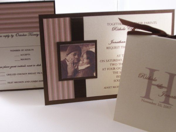 Tmx 1215321752716 HallWedding 2 Rochester wedding invitation