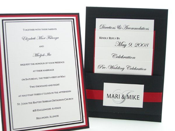 Tmx 1215321991423 Ilic 1 Rochester wedding invitation