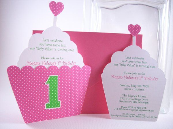 Tmx 1215322240285 Cupcake 5 Rochester wedding invitation