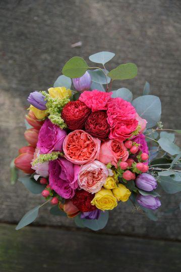 Bridal Bouquet in Bohemian style