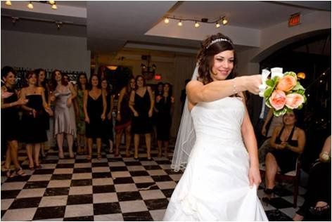 Throwing The Bouquet with American Bride DJ Entertainment.