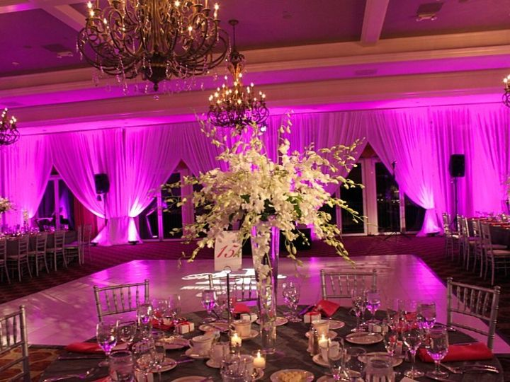 Tmx 1375285634145 Uplighting11hot Pink Cleveland, OH wedding dj