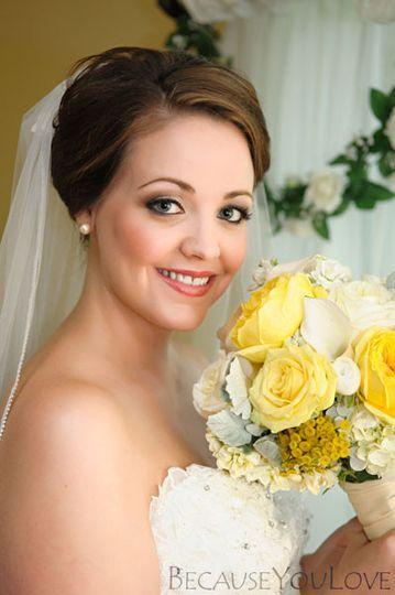 Blooming bride