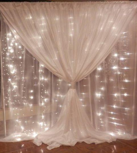 String lights rental