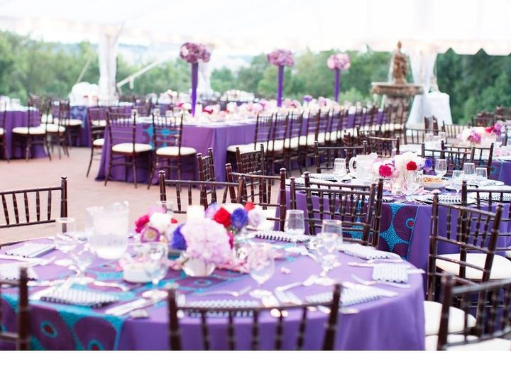 Tmx 1493435200764 Colorful Centerpiece Wedding Woodbridge, District Of Columbia wedding rental
