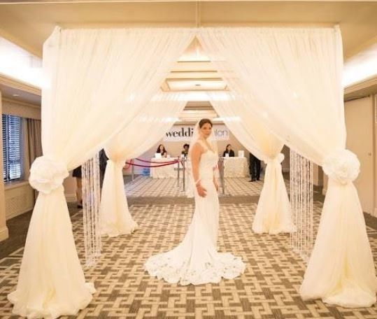 Tmx 1493435485923 Chuppah At The Wedding Salon Bridal Show Woodbridge, District Of Columbia wedding rental