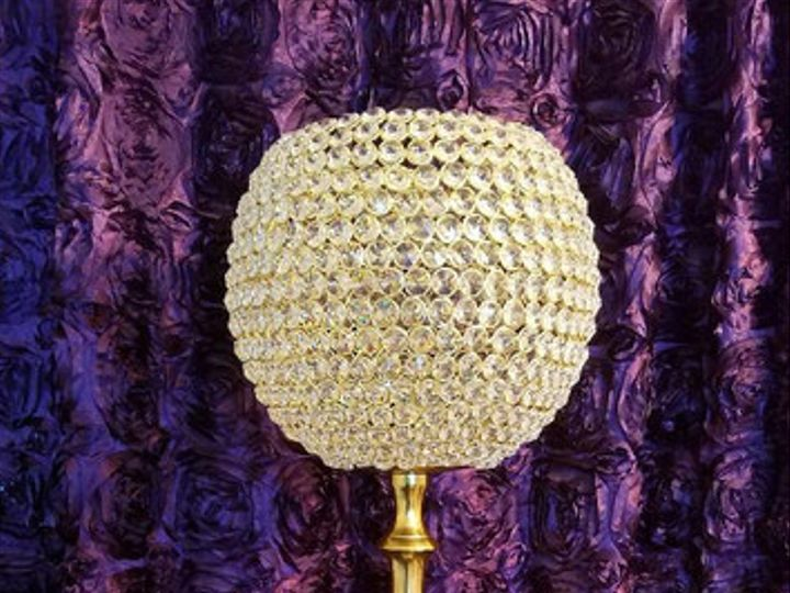 Tmx 1494984035580 Gold Crystal Candleholder Woodbridge, District Of Columbia wedding rental