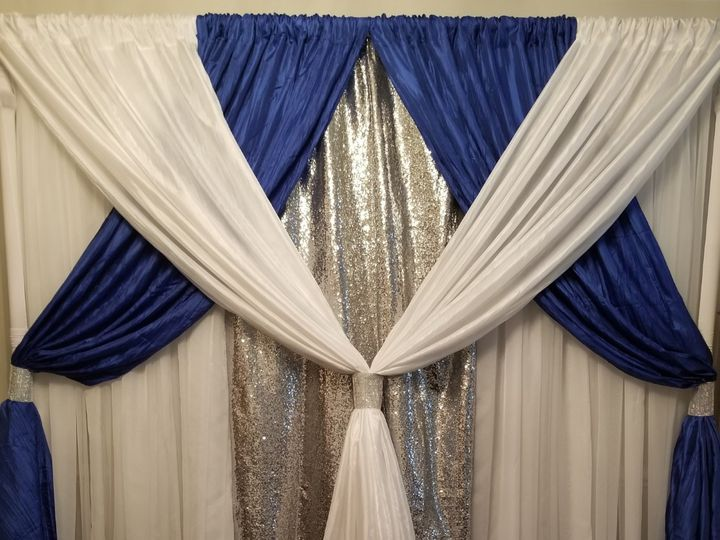 Tmx Royal Blue And Silver Backdrop 51 30168 158280733470061 Woodbridge, District Of Columbia wedding rental