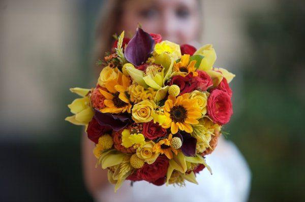 Ashley Cole Wedding Bouquet