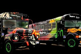 Retro Rider Party Buses