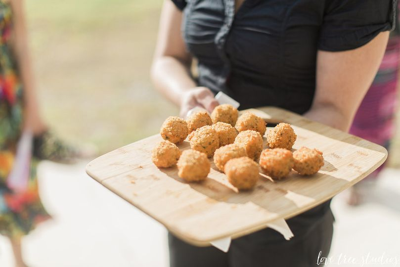Pimento Cheese Balls by ART Catering & Events Photography by Love Tree Studios