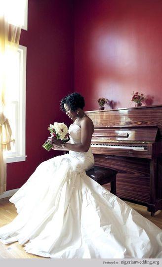 nigerian wedding black bride