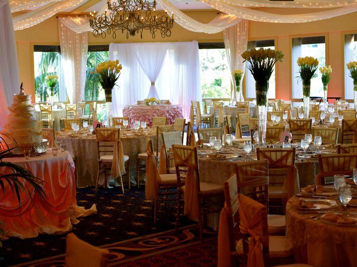 Tmx 1403674973309 Disneyland Sleeping Beauty Pavilion Draping  Light Anaheim, CA wedding eventproduction