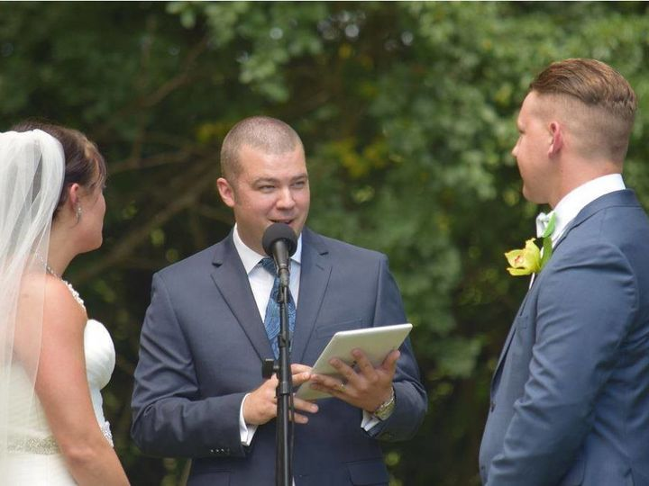 Tmx 1511146775990 139582094880582080640185570940478056482795o Jackson, WI wedding officiant