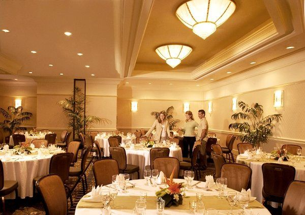 Inside our ballroom--can be set up any way you'd like!