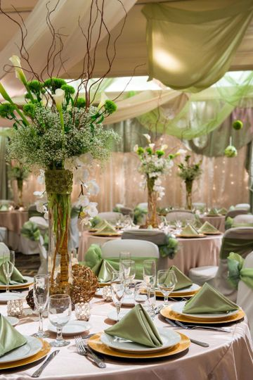 tall centerpieces for height