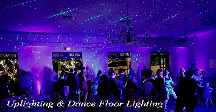 Uplighting & Dance Floor Lighting