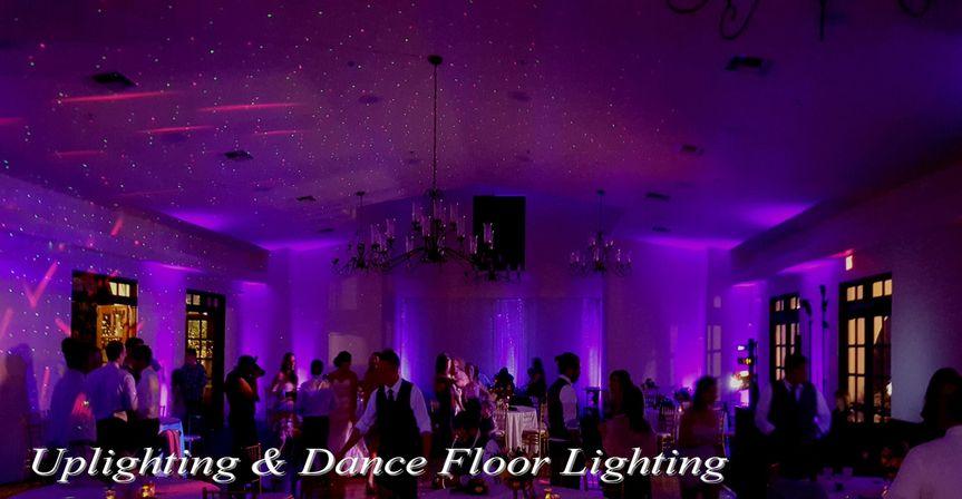 Uplighting & Dance Floor Lighting