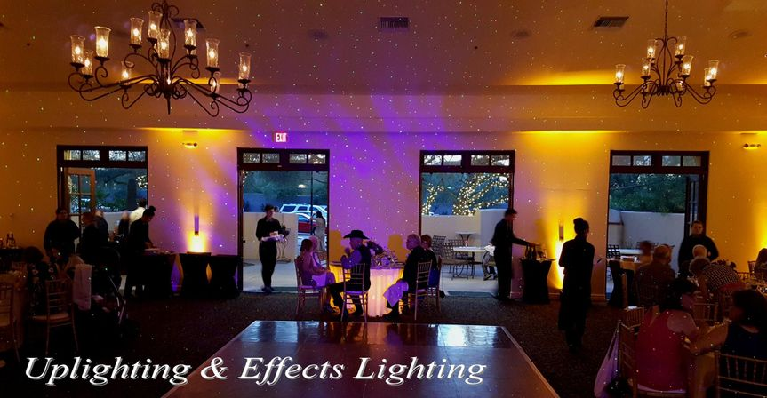 Uplighting & Effects Lighting