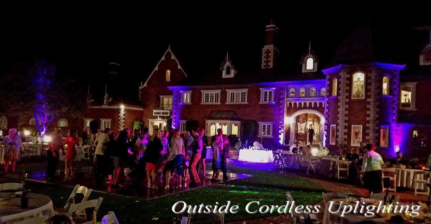 Outdoor Cordless Uplighting