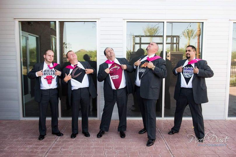 15b crazy groomsmen