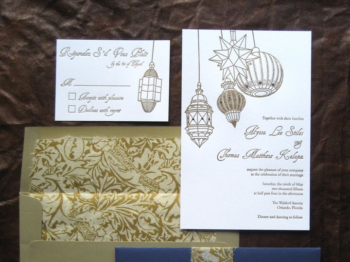 Tmx 1439908529377 Img5012 Huntsville, AL wedding invitation