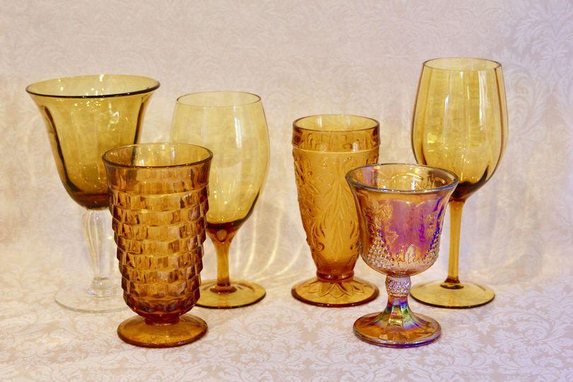 Goblets:  Gold
