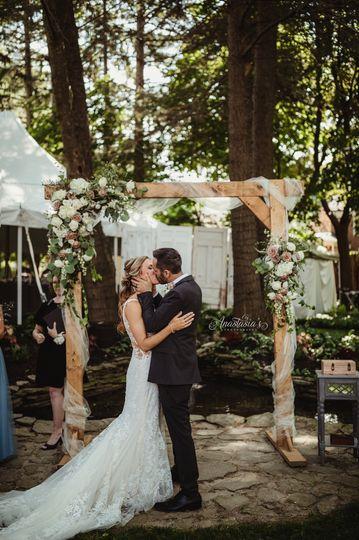 Backyard wedding - Anastasia's Photography