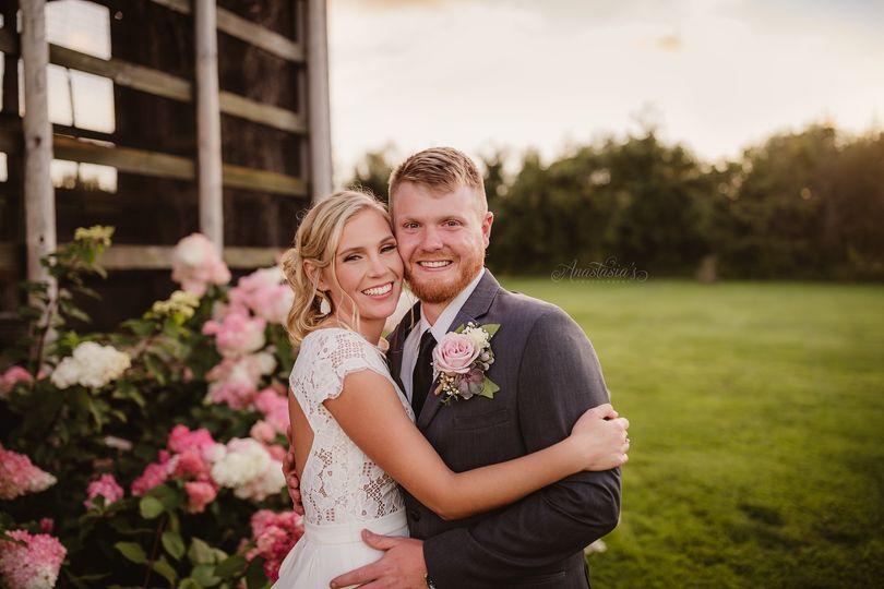 Beautiful Dansville wedding