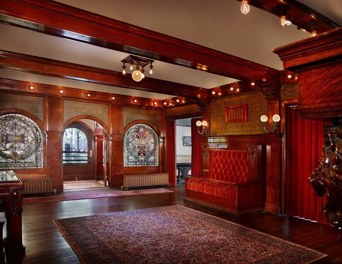 Inside of Historic Pleasant Home
