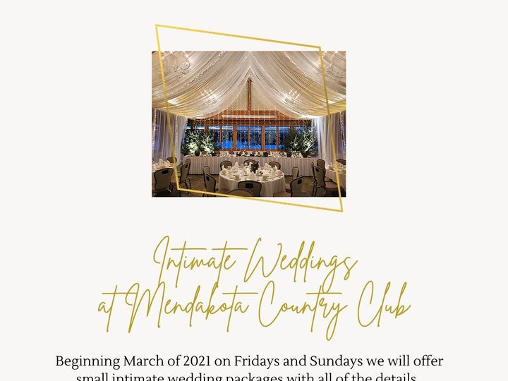 Tmx Intimate Weddings At Mendakota Country Club 51 48168 161038038363680 Saint Paul wedding venue