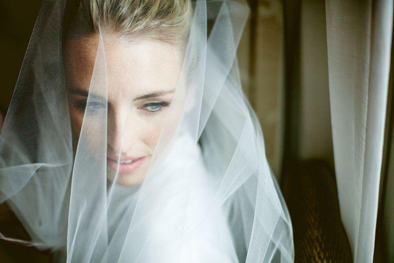 Bride creative shot