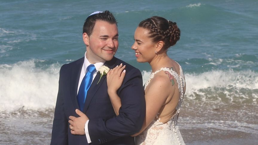 Tamara & Trevor at Hutchinson Island
