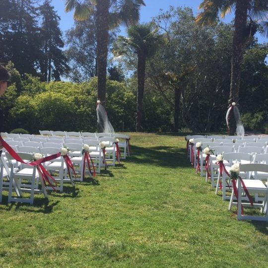 Alternative outside ceremony location