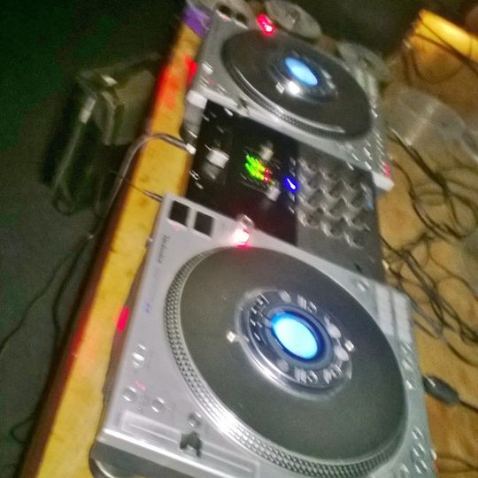 Technics 1200 CDJ's is what i use , feels more like record turtables then any other unit